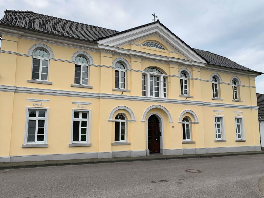 Renovierung Denkmalgeschützte Fassade